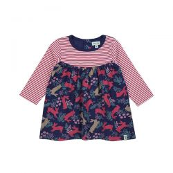 Lilly & Sid Bunny Cord Dress