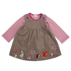 Lilly & Sid Reversible Pinafore Set