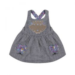 Lilly & Sid Mouse Pinafore Set