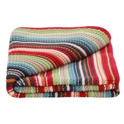 Lilly & Sid Unisex Knitted Blanket