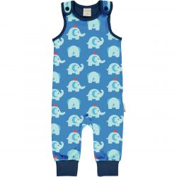Maxomorra Elephant Friends Playsuit