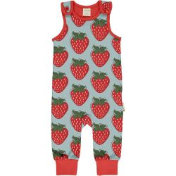 Maxomorra Strawberry Playsuit