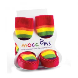 Mocc Ons Rainbow Slippers
