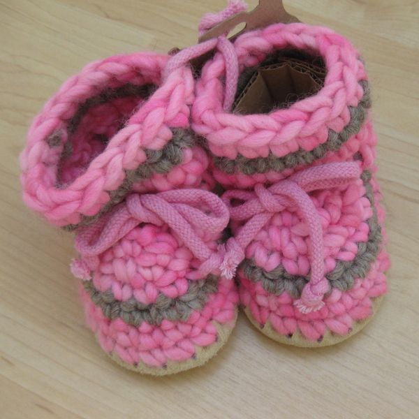 Padraig Cottage Pink Stripe Slippers