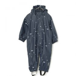 Miniature Ombre Blue Rainsuit