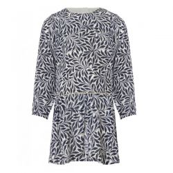 Miniature Micha Leaf Print Dress