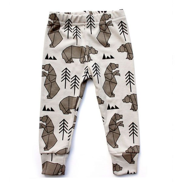 Tobias & the Bear Mr Bear Leggings