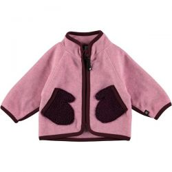 Molo Umo Pink Fleece Jacket