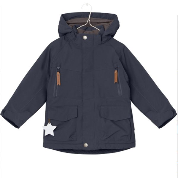 Miniature Wille Blue Nights Coat